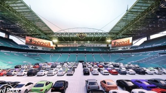 The Miami Dolphins Are Converting Hard Rock Stadium Into A Drive-In Theater