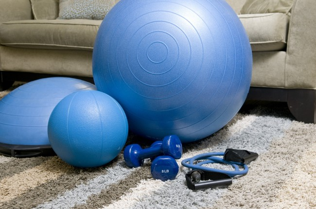 Home Fitness Trends Working Out At Home