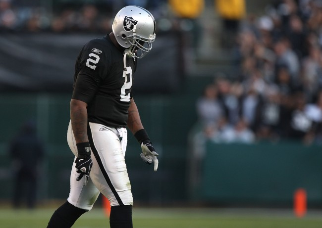 NFL bust JaMarcus Russell would reportedly need teammates to bribe him with Wendy's cheeseburgers in order to watch film