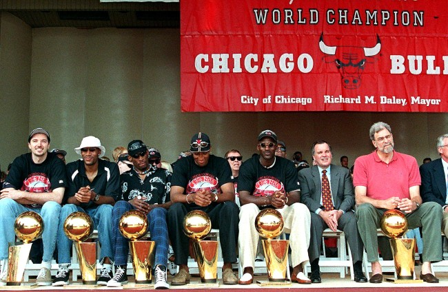 Jerry Reinsdorf Blames Michael Jordan Cigar Cutter Injury For Ending Dynasty
