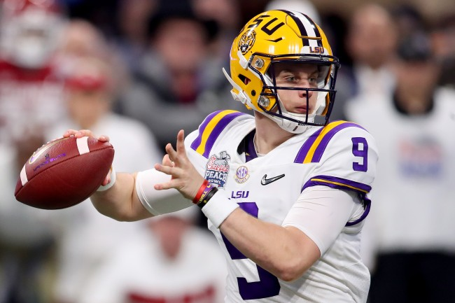 According to reports, Joe Burrow earned his LSU teammates' respect by starting a wild fight during a scrimmage last summer