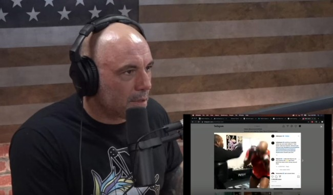 Joe Rogan Mike Tyson Boxing Videos