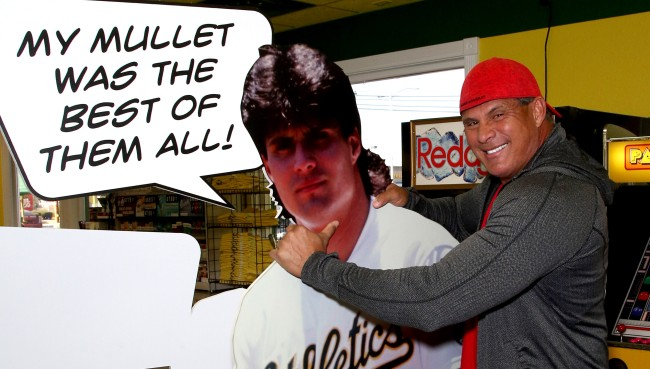 Jose Canseco Tweets About How Teaching Dream Control Seminars