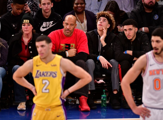 LaVar Ball hints at his three sons, Lonzo, LiAngelo and LaMelo, reuniting on the Lakers down the road