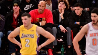 LaVar Ball Continues To Talk That B.S. By Hinting At A Scheme That Would Bring His Three Sons To The Lakers Together