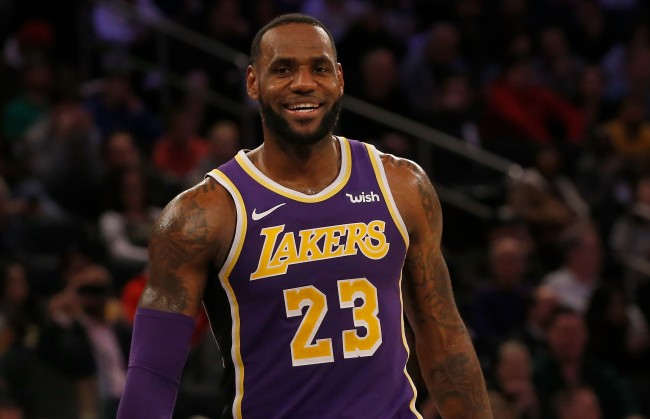 There's already a rumor claiming LeBron James could end up playing for the New York Knicks in next couple years