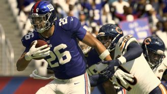 Madden 21 Bumps Up Saquon Barkley's Overall Rating After Fans Lose Their Minds On Social Media
