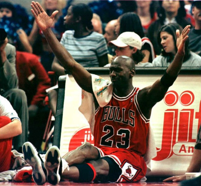 Michael Jordan's former Bulls teammate, Brad Sellers, describes how MJ would have to grocery shop during closing hours because he was so popular