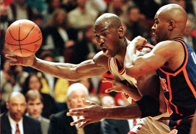 Michael Jordan's former teammate, Randy Brown, explains why he tried wrestling the ball away from a sobbing MJ after winning 1996 NBA Finals
