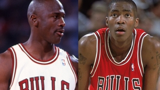 Michael Jordan Once Drove Away In Jamal Crawford's Mercedes After Winning A Three-Point Contest With His Ferrari On The Line