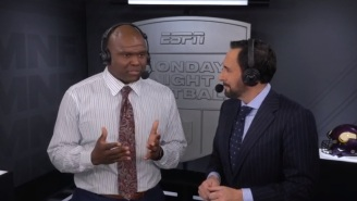 Joe Tessitore And Booger McFarland Will Not Be Returning To 'Monday Night Football' Next Season According To Report