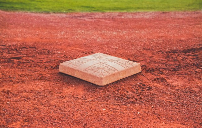 baseball pitcher's mound