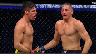 Niko Price's Eye Was Completely Shut And Looked Pretty Nasty After Fight Against Vincente Luque At UFC 249