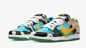 People Are Already Reselling Ben & Jerry's 'Chunky Dunky' Nike Sneakers For Insane Prices