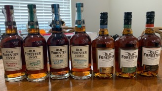 You Can Get The Complete Old Forester Whiskey Collection On Drizly Right Now And Make This The Best Weekend In Months