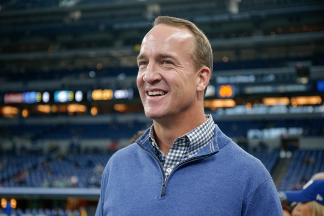 Peyton Manning son patrick mahomes fan