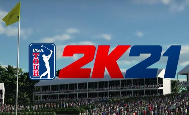 PGA Tour 2K21 announcement teaser trailer