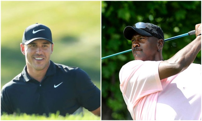 brooks koepka michael jordan golf smack talk