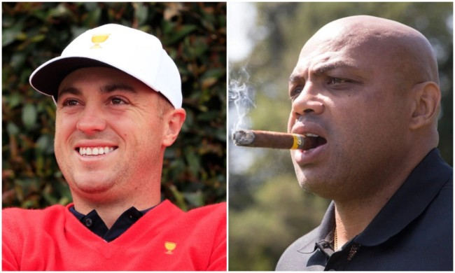 justin thomas charles barkley broadcast the match champions for charity