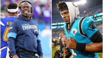 Anthony Lynn Reveals That The Chargers 'Absolutely' Looked Into Signing Cam Newton, But Chose Not To Due To Crowded QB Room