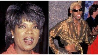 Oprah Is Catching Heat For Resurfaced 1996 Interview Of Her Forcefully Questioning Dennis Rodman About His Sexuality