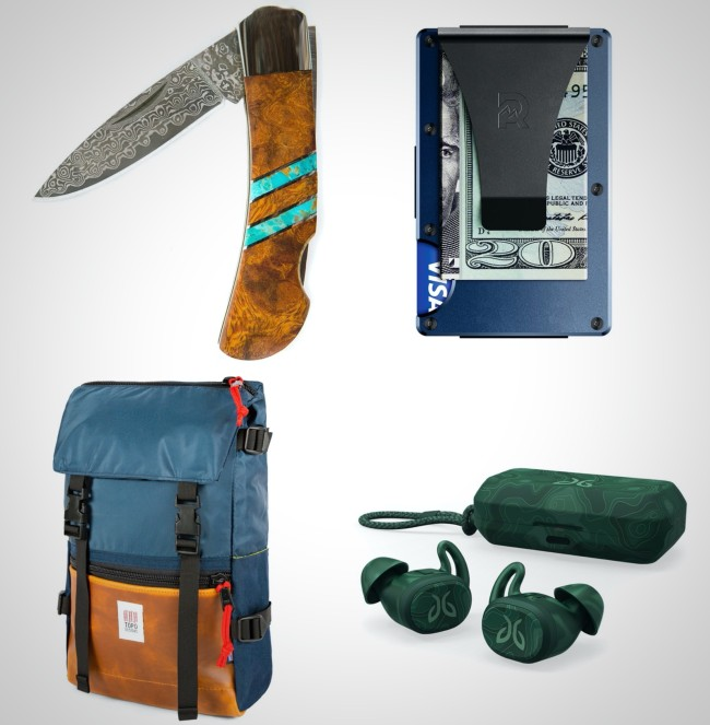 premium everyday carry items colorful