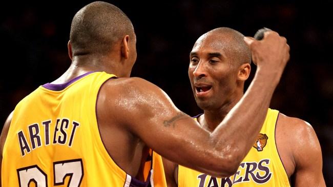 Ron Artest Trash Talked Kobe Bryant So Bad Phil Jackson Stepped In