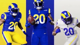 NFL Fans React To The L.A. Rams New Microsoft Paint-Inspired Uniforms