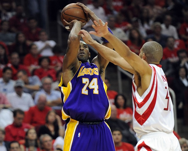Shane Battier gave an interesting reason why he defended Kobe Bryant with a hand to his face