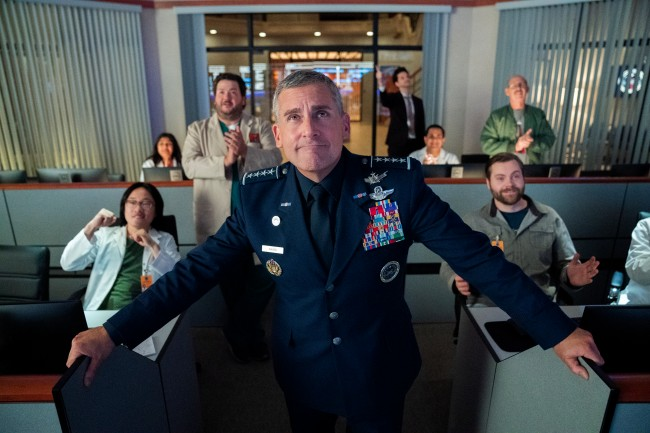 SPACE FORCE Review: Steve Carell Let's Supporting Cast Shine In Surprisingly Sentimental Return To Half-Hour Comedy Series