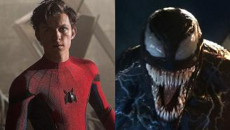 Tom Hardy Posting 'Venom' Images To Social Media That Seem To Be Teasing Spider-Man