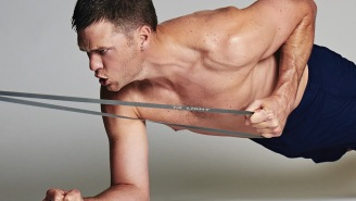 Start Working Towards Getting Toned AF With This TB12 Sports At-Home Looped Band Kit