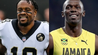 Ted Ginn Jr. Says He Beat Usain Bolt In A Race In High School And Claims He'd Be An Olympian If He Hadn't Played In The NFL