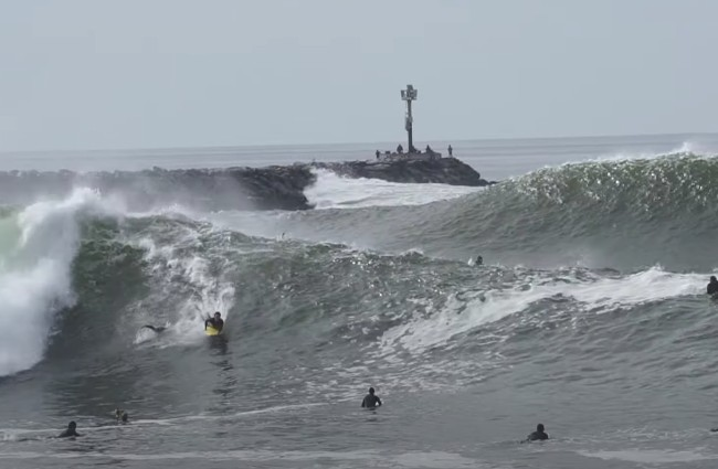The Wedge Surfing Highlights