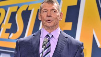 A 74-Year-Old Vince McMahon Convinced Rob Gronkowski To Jump Off A Tower At 'WrestleMania 36' By Diving Off Of It To Prove It Was Safe