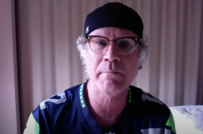 Will Ferrell Crashes Seattle Seahawks Meeting