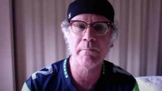 Will Ferrell Crashed A Seattle Seahawks Virtual Team Meeting And Heckled Russell Wilson About His Hair