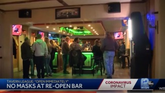 Wisconsin Bars Get Packed With People Immediately After Stay-At-Home Order Gets Blocked By State Supreme Court