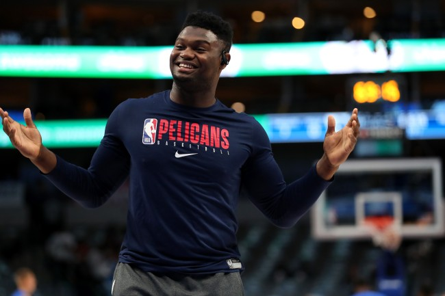 Some believe the NBA's group stage plan is just a way to get Zion Williamson into the playoffs