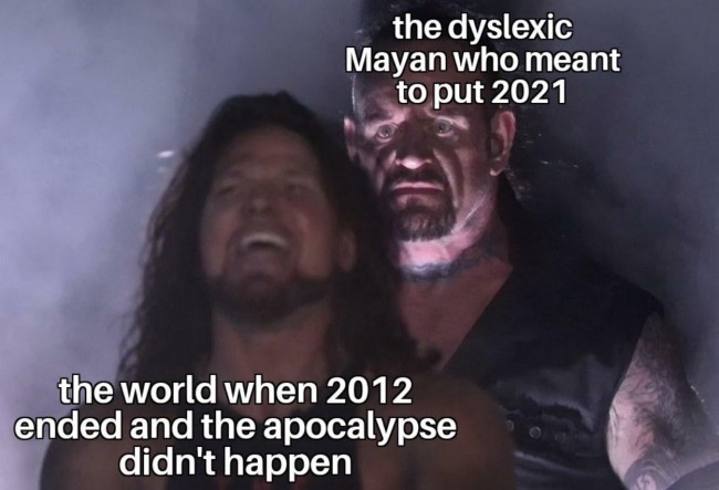 50 best memes undertaker end of the world