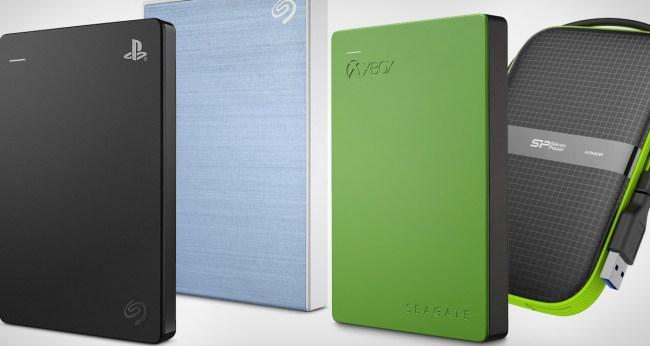 Best External Storage Devices Hard Drives  Deals