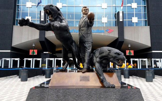 Carolina Panthers Removing The Statue Of Founder Jerry Richardson