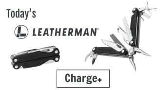 Today's Leatherman: Charge+