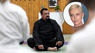 Charlize Theron Eviscerates Steven Seagal: 'He's Overweight And Can Barely Fight'