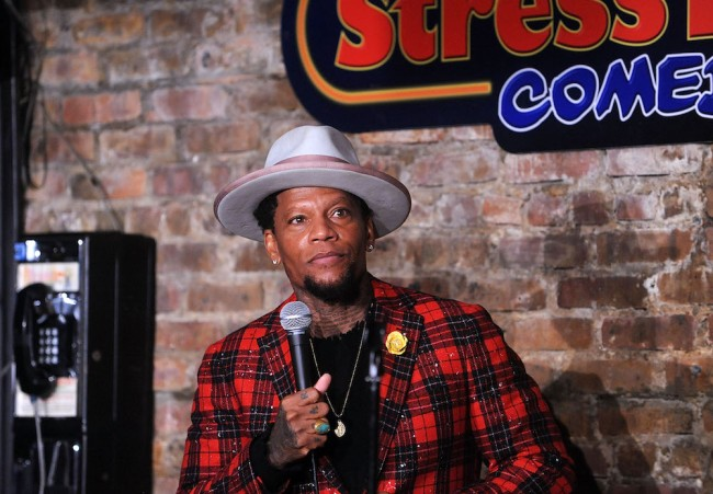 DL Hughley passes out