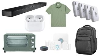 Daily Deals: Soundbars, AirPod Pros, Ring Alarm Systems, Lacoste Sale And More!