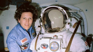 The First Woman To Walk In Space Just Became The First Woman To Dive To The Deepest Point On Earth