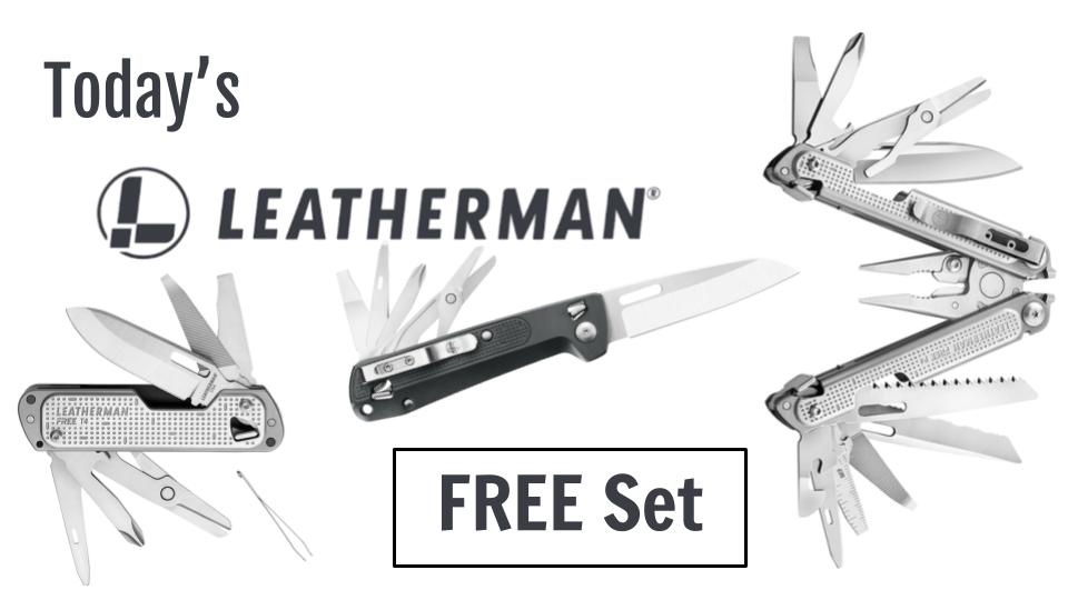 Today S Leatherman Free Set Brobible