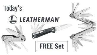Today's Leatherman: FREE Set