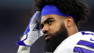 Cowboys' Ezekiel Elliott Is Angry About His Positive Coronavirus Test Result Getting Leaked On The Internet Without His Approval